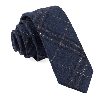 barberis wool sotto blue ties