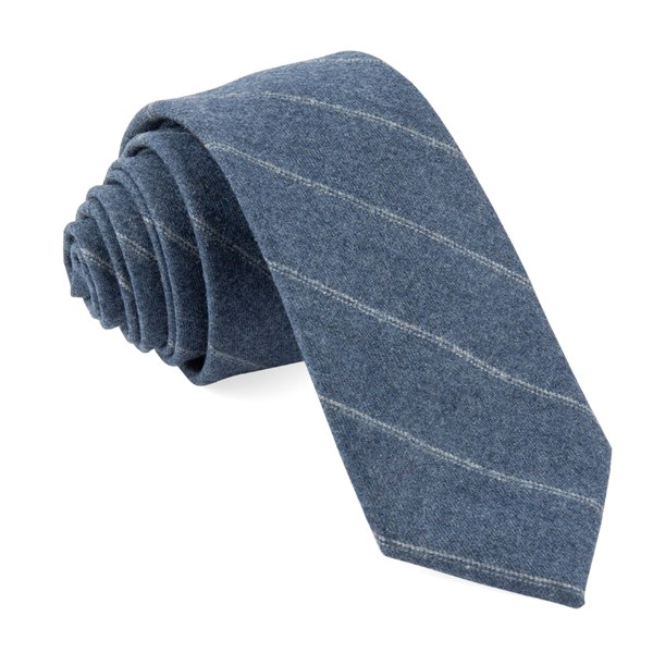 Light Blue Barberis Wool Giallo Tie