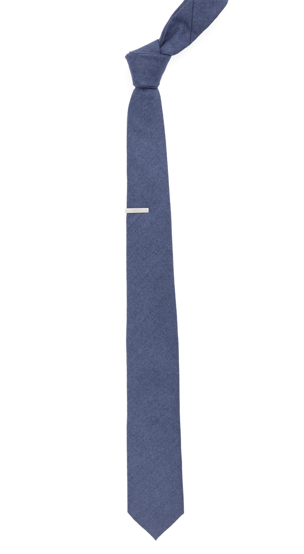 83a173802b76 ... Blue Barberis Wool Togna Tie - Blue Barberis Wool Togna Tie secondary  image