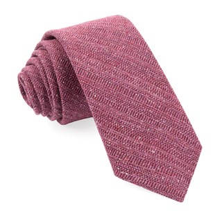 bear lake solid raspberry ties