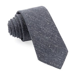 bear lake solid charcoal ties