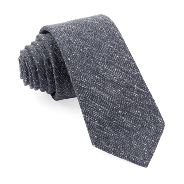 Charcoal Bear Lake Solid Tie