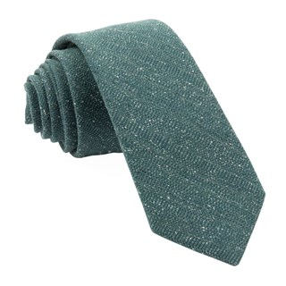 bear lake solid hunter green ties