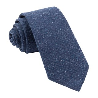 bear lake solid navy ties