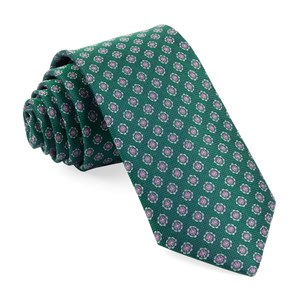 medallion cruise emerald green ties