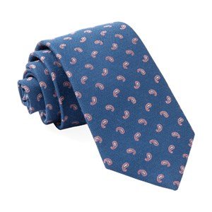 prime paisley classic blue ties