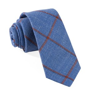 barberis fiore blue ties