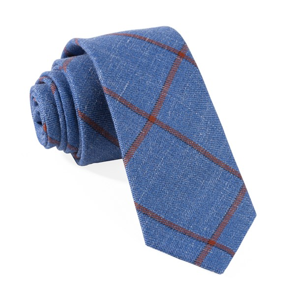 Barberis Fiore Blue Tie