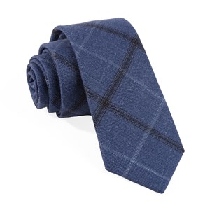 barberis wool sera blue ties