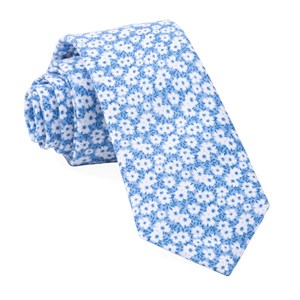 alfresco floral light blue ties