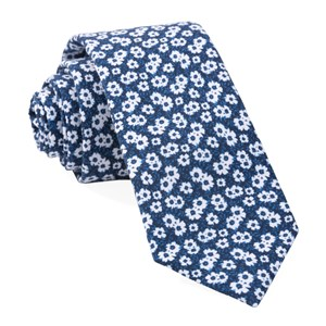 alfresco floral navy ties