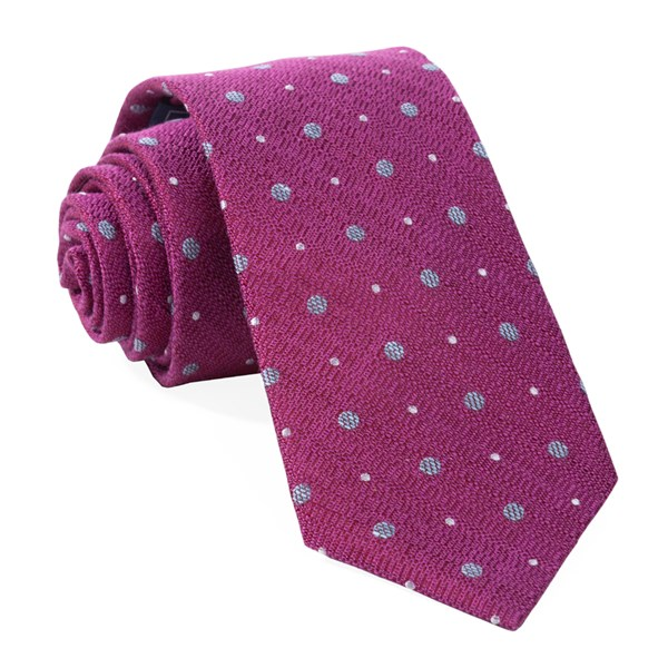 Azalea Lighthouse Dots Tie