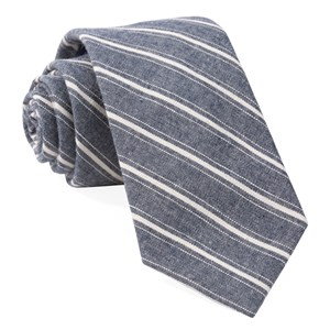 seaboard stripe navy ties