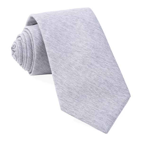 Grey Sunset Solid Tie