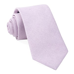sunset solid lavender ties