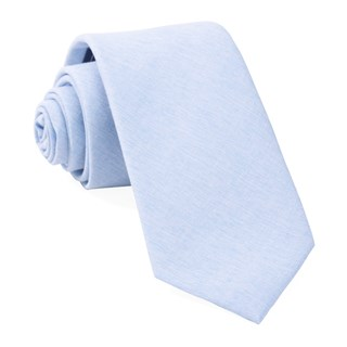 sunset solid light blue ties