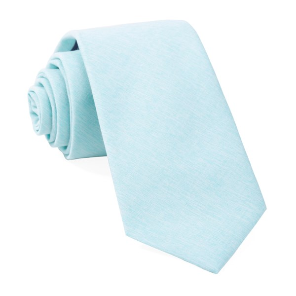 Mint Sunset Solid Tie
