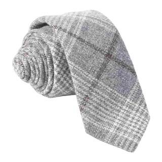 Barberis Wool Freddo Grey Tie