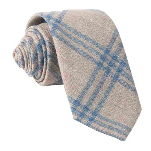 barberis wool neutro oatmeal ties