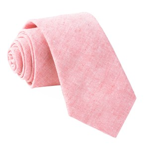 solid breeze pink ties