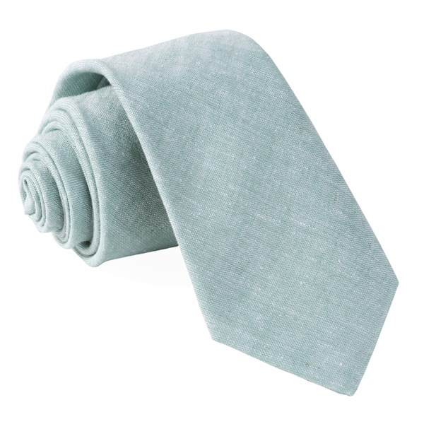 Mint Solid Breeze Tie