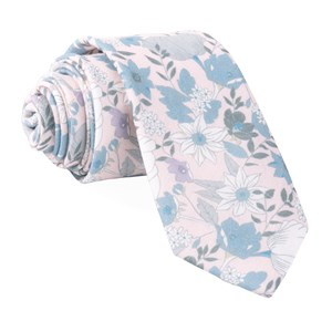 bhldn floral daydream blush pink ties