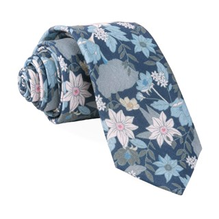 bhldn floral daydream navy ties