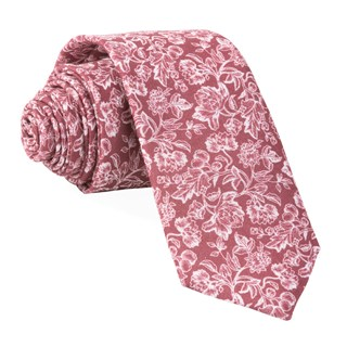 bhldn flower portrait burgundy ties