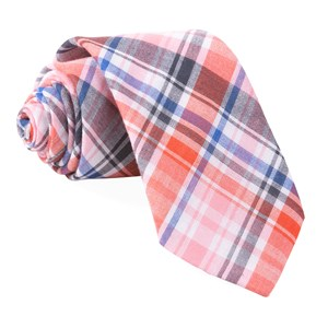 plaid umbra red ties
