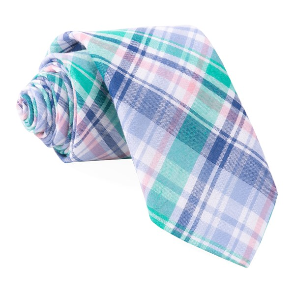 Green Plaid Umbra Tie