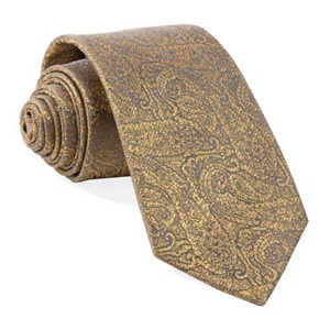 estate paisley gold ties