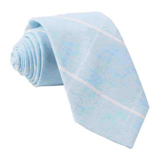 sea breeze panes light blue ties