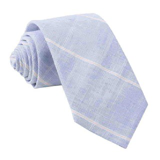Sea Breeze Panes Navy Tie