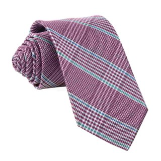 Bay Plaid Azalea Tie