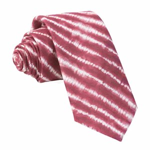 day dreamer stripe burgundy ties