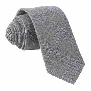 azur glen plaid grey ties