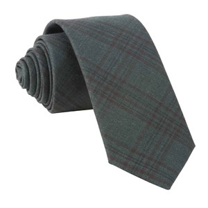 harvest glen plaid hunter green ties
