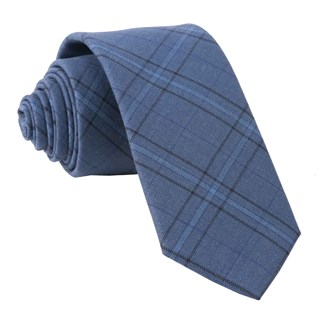 quotidian plaid navy ties