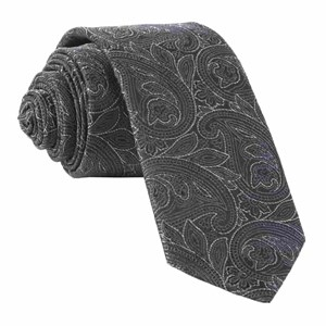 paisley fortune black ties