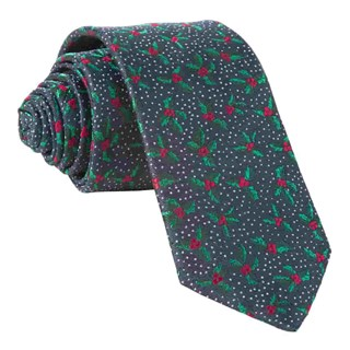 under the mistletoe navy ties