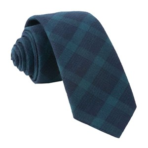 mark plaid hunter green ties
