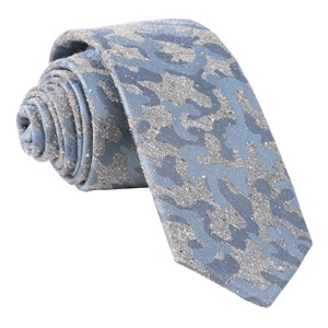 speckled camo grey ties