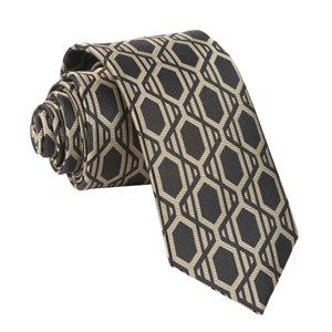 art deco gems black ties