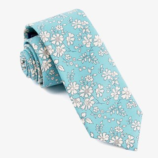 Liberty Capel Pool Blue Tie
