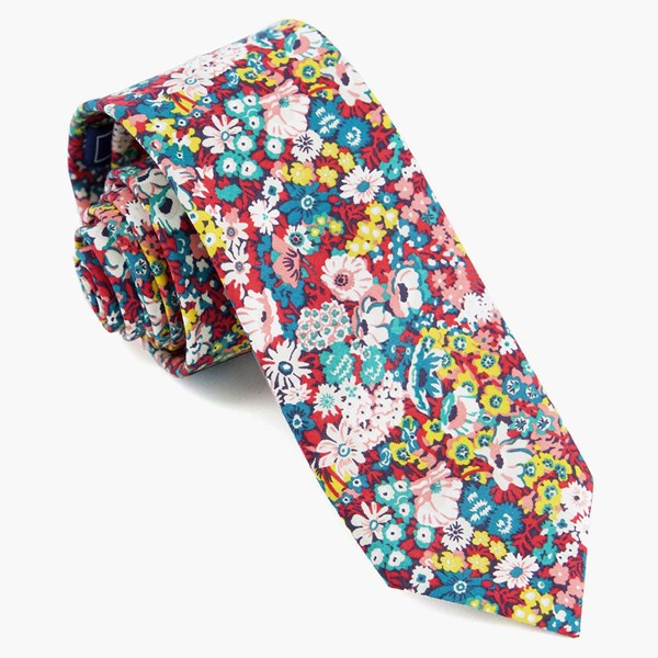Liberty Thorpe Hill Teal Tie