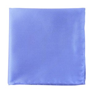 solid twill periwinkle pocket square