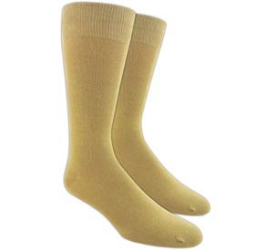 Khaki Solid mens socks