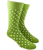 Men's Socks - PIVOT DOTS - CLOVER