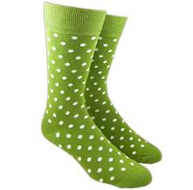 Clover Pivot Dots mens socks