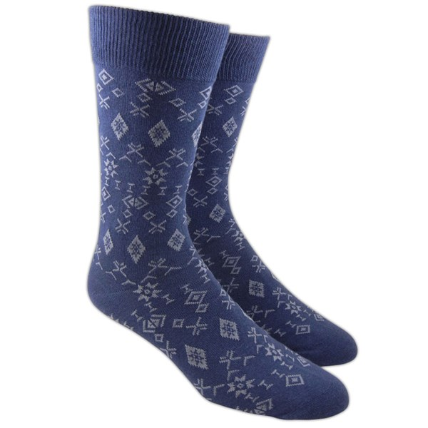Blue Knative Socks
